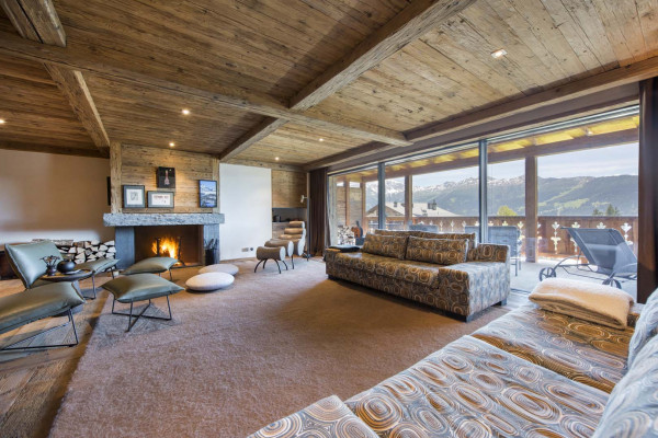 Classic alpine living space in the heart of Verbier