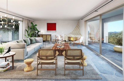 Exquisite villas with stunning countryside views