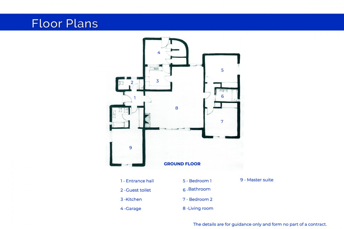 South-facing centrally located plot
