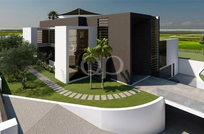 Striking brand new contemporary villa