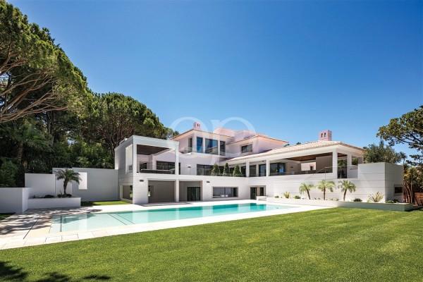 Frontline golf villa with stylish modern interiors