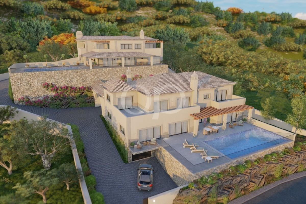 Elevated plot with sea views close to Santa Barbara de Nexe