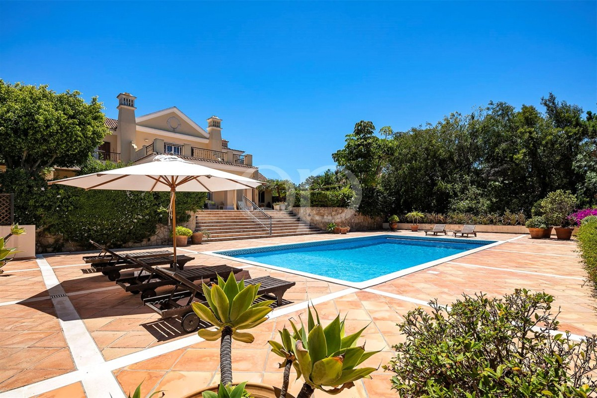 Magnificent Quinta do Lago villa overlooking the Golf Course