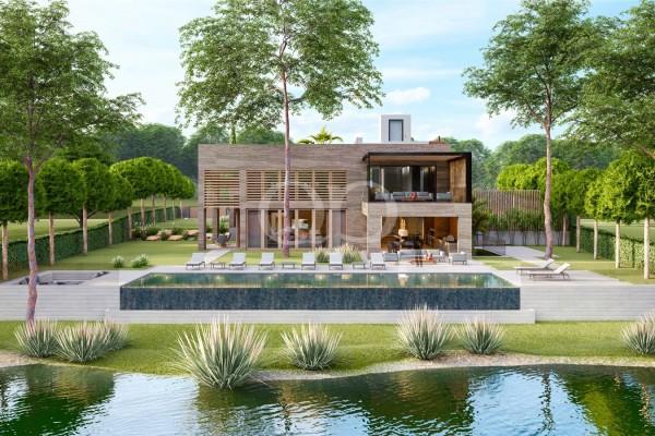 Oportunidade excecional para a construção de uma residência única na Quinta do Lago