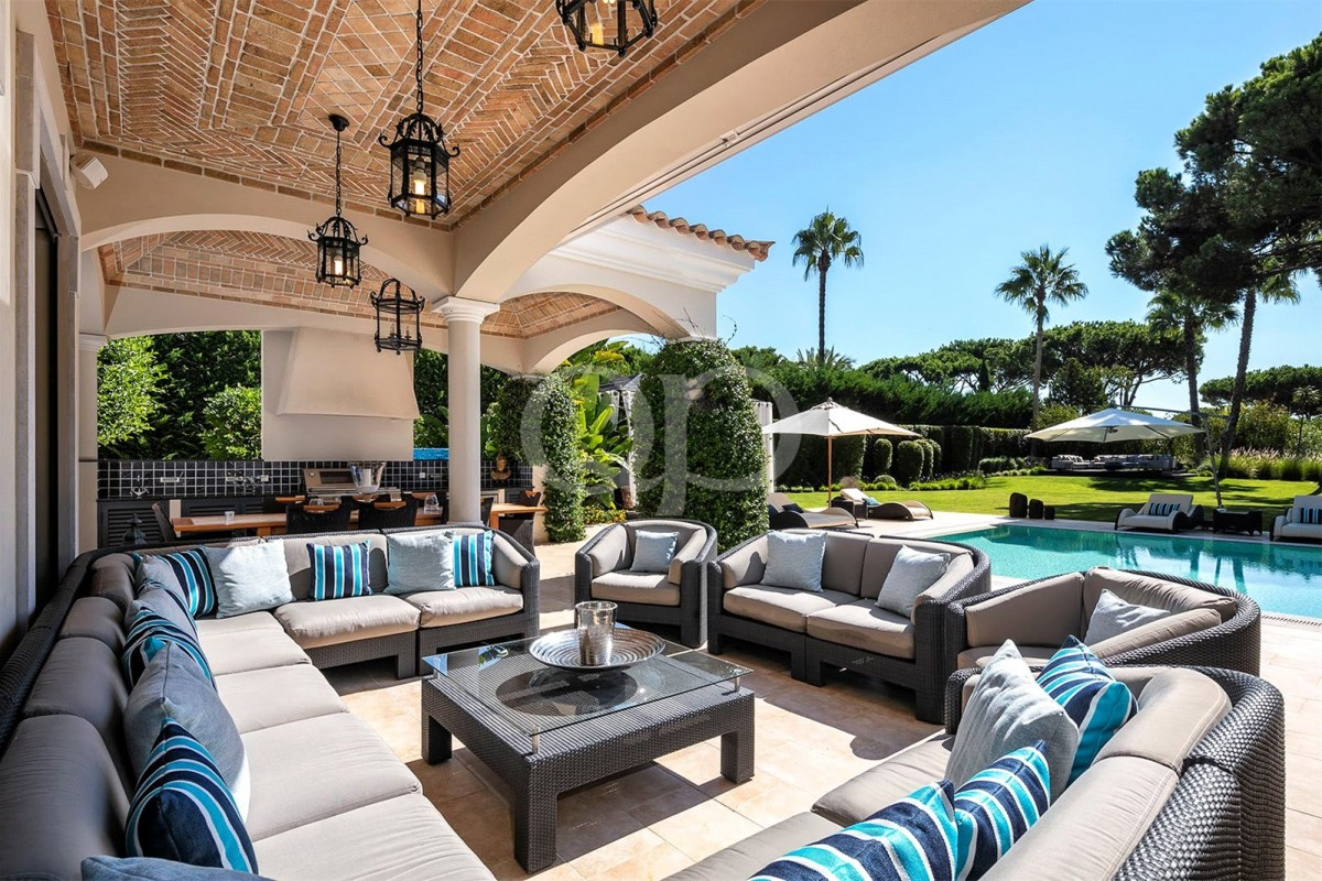 Beautiful family villa located within a luxury resort